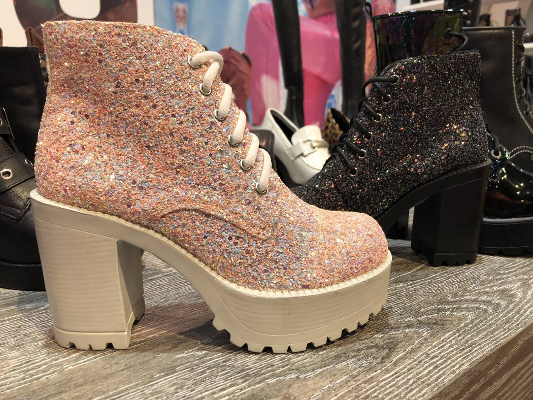 Pampas ankle boot by Roc Boots Australia at MAGIC in Las Vegas. (Janna Karel Las Vegas Review-Journal)