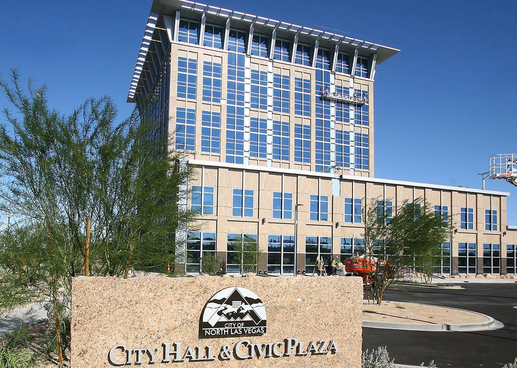 North Las Vegas City Hall.