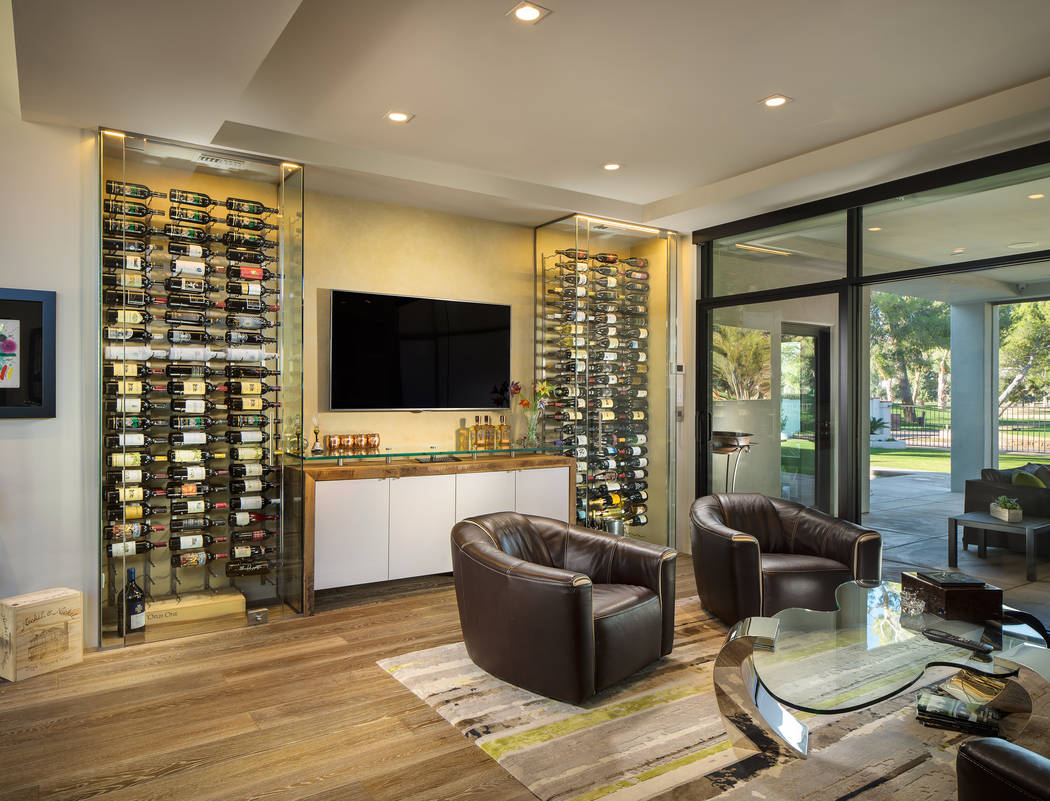 Today S Home Wine Cellars Embrace Modern Design Trends Las Vegas Review Journal