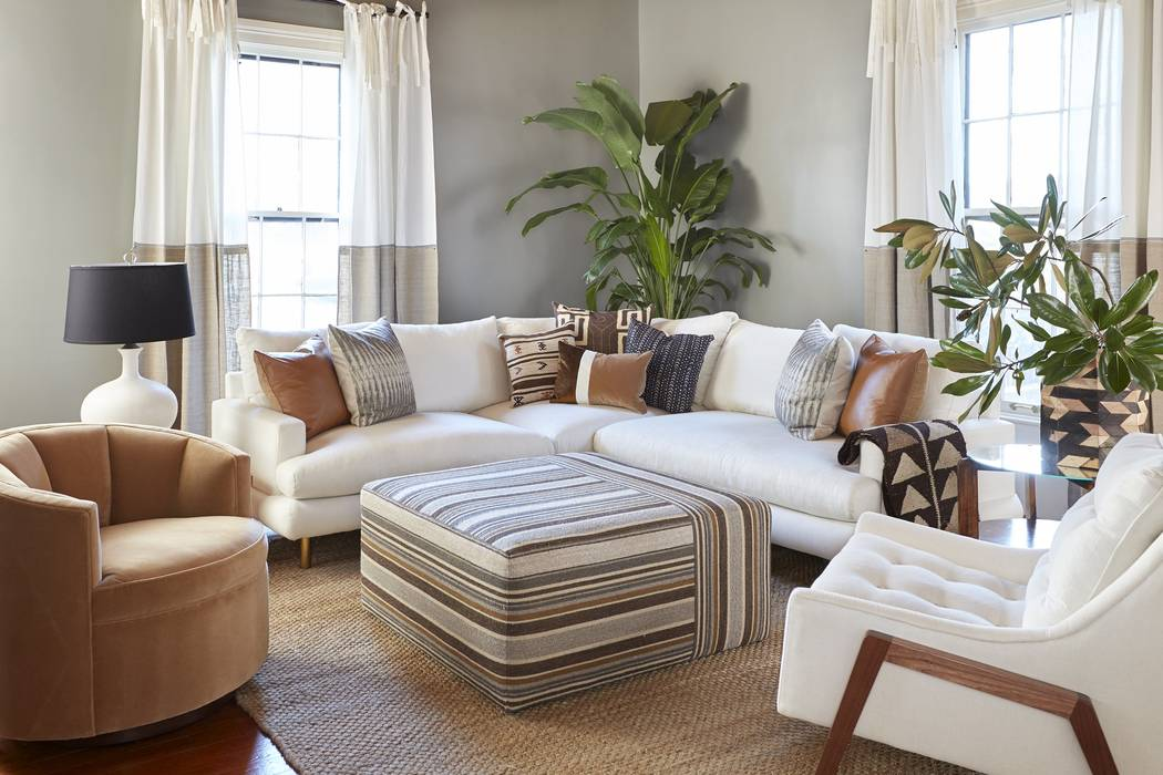 The Somerset sectional is characterized by its deeply padded and rolled front rail that supports its inset seat cushions, giving the impression that the cushions are floating above the frame. Its ...