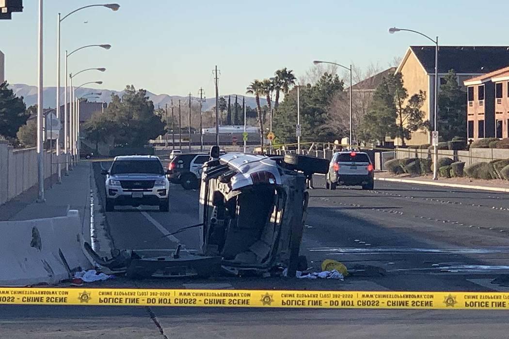 Las Vegas Car Accident >> 1 Injured In 2 Vehicle Accident In Southwest Las Vegas Las