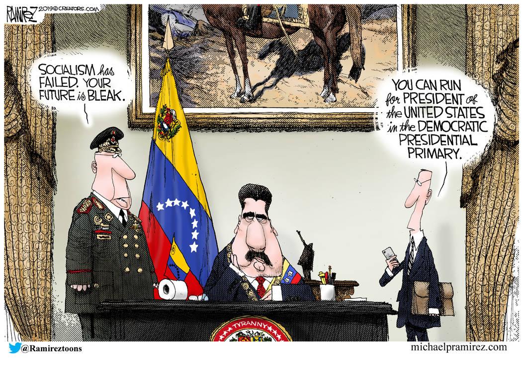 CARTOON: Venezuela and U.S. Democrats
