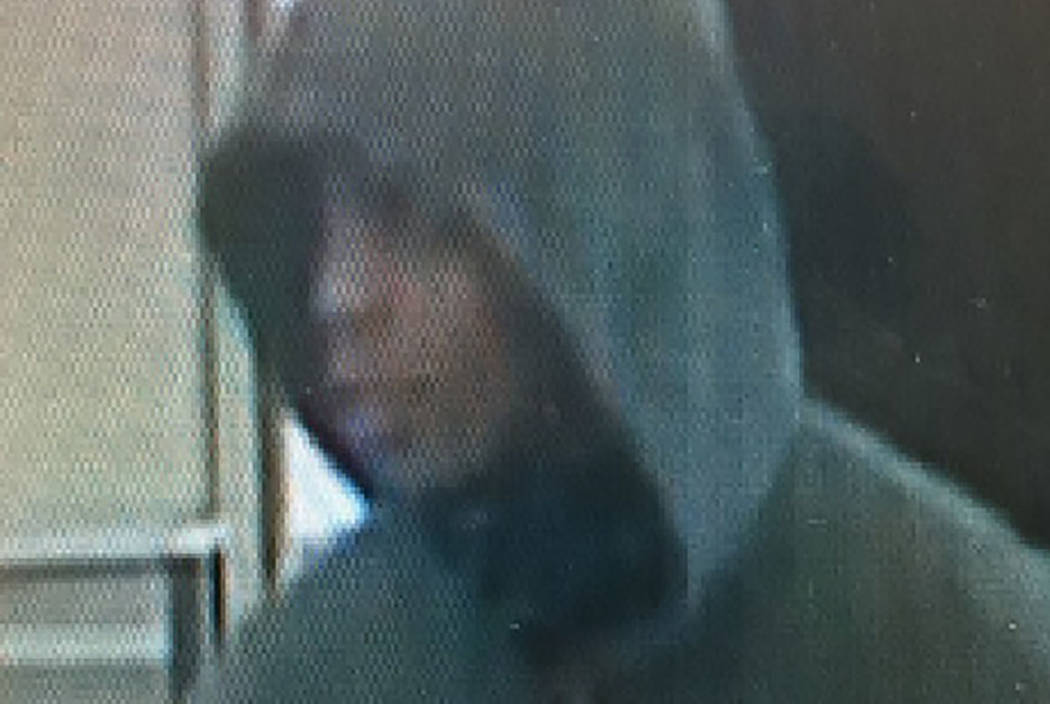 Las Vegas police are looking for a man suspected of robbing a business on Boulder Highway Monday. (Las Vegas Metropolitan Police Department)