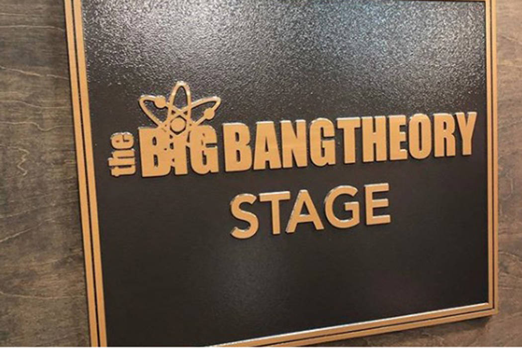 "Warner Brothers unveiled a plaque renaming Stage 25 after their hit show ""The Big Bang Theory"" on Thursday, February 7, 2019. (Kaley Cuoco/Instagram)"