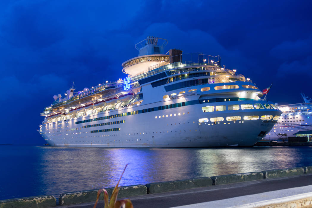 A Royal Caribbean cruise ship is shown. (Getty Images)