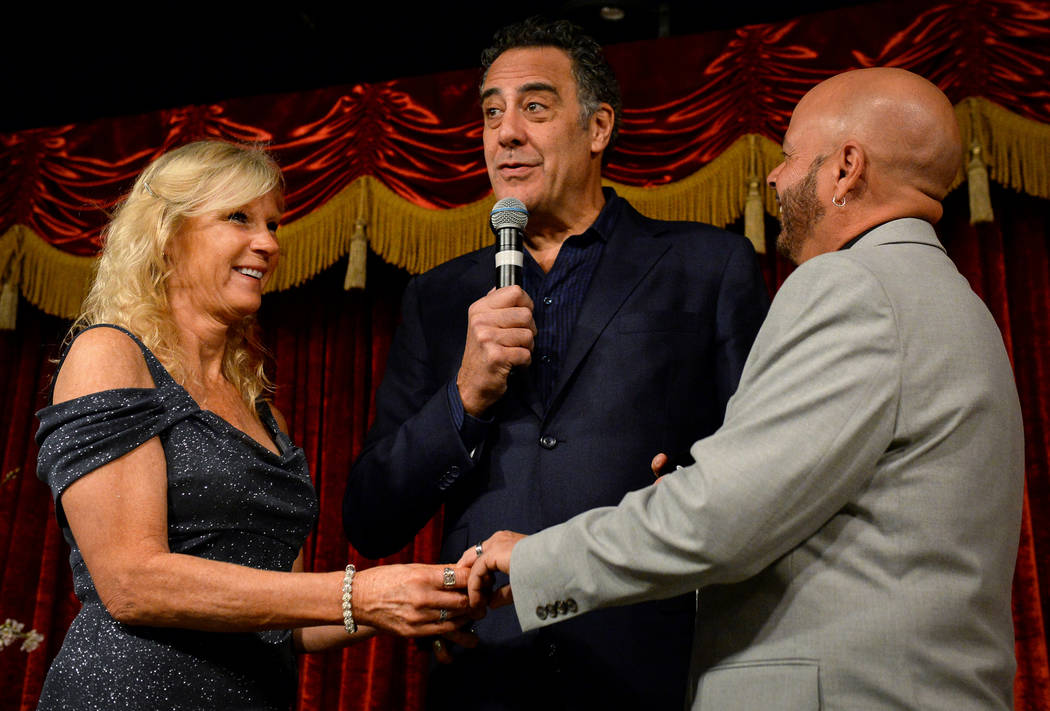 Brad Garrett brings the love, laughs at MGM Grand wedding ...