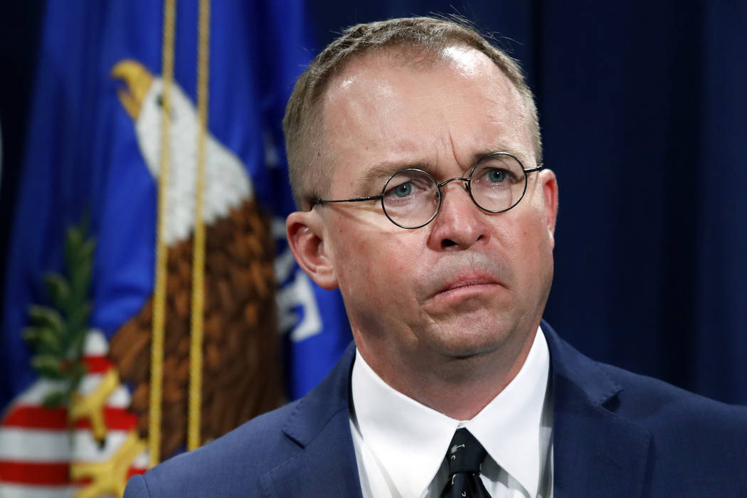 The White House is not ruling out another government shutdown, as lawmakers continue to negotiate funding for President Donald Trump's proposed border wall. (AP Photo/Jacquelyn Martin, File)