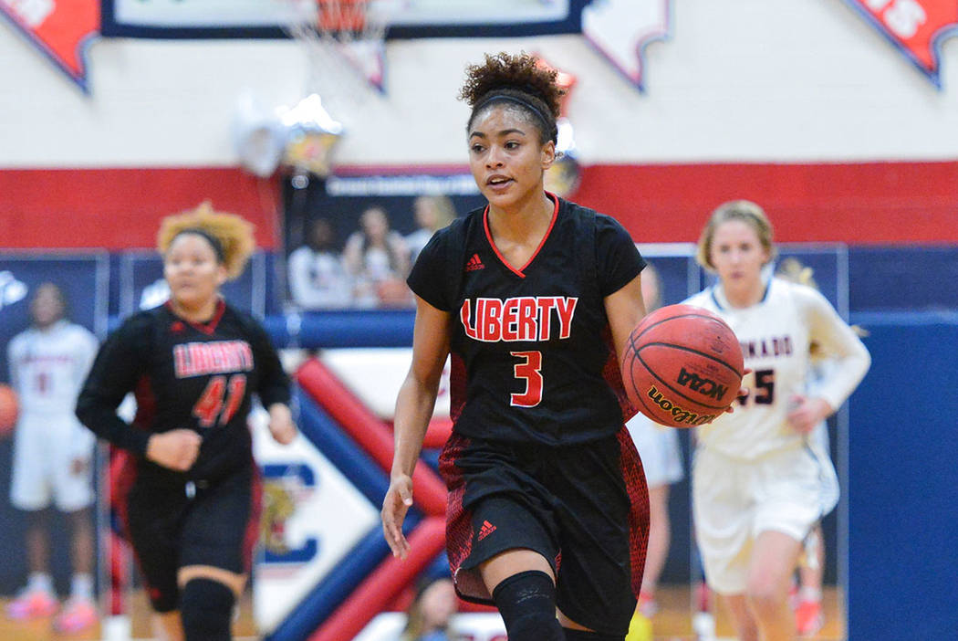 Top Las Vegas rebounder Journie Augmon leads Liberty to playoffs