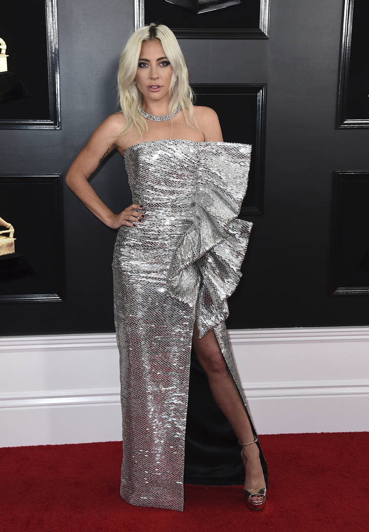 Lady Gaga arrives at the 61st annual Grammy Awards at the Staples Center on Sunday, Feb. 10, 2019, in Los Angeles. (Photo by Jordan Strauss/Invision/AP)