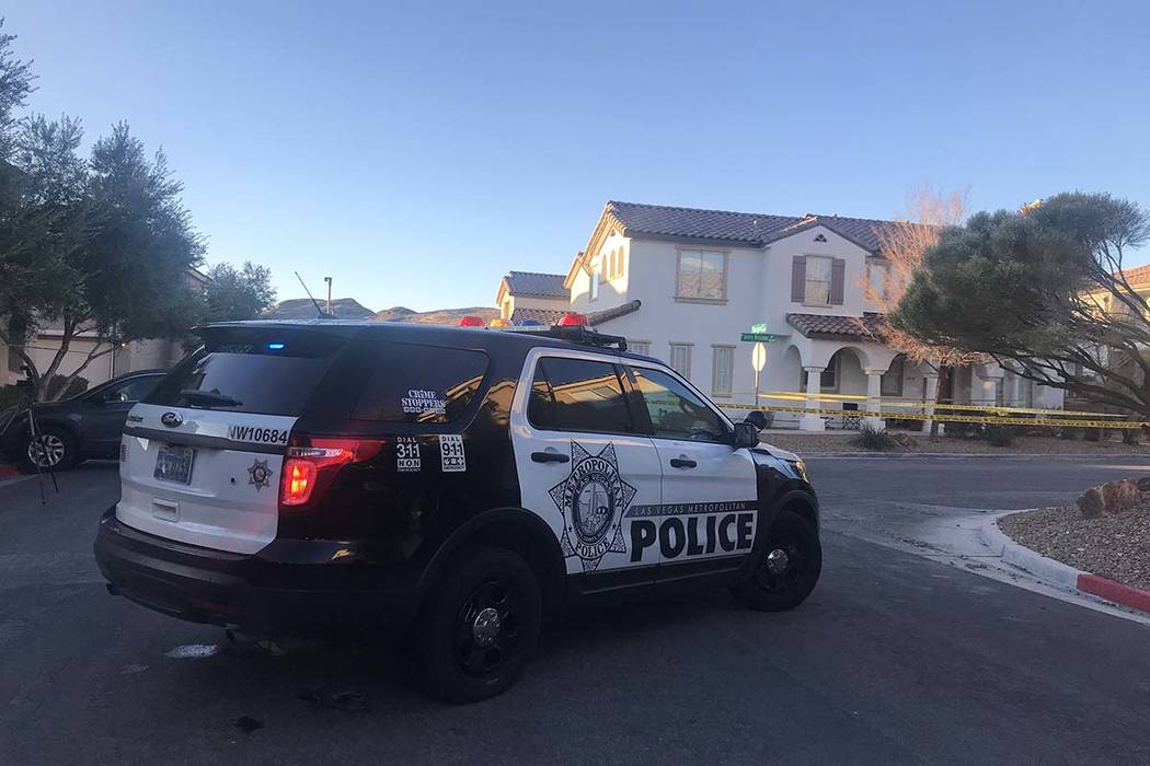 "An adult driver suffered an apparent ""medical episode"" early Monday morning in the western Las Vegas Valley and died. (Lukas Eggen/Las Vegas Review-Journal)"