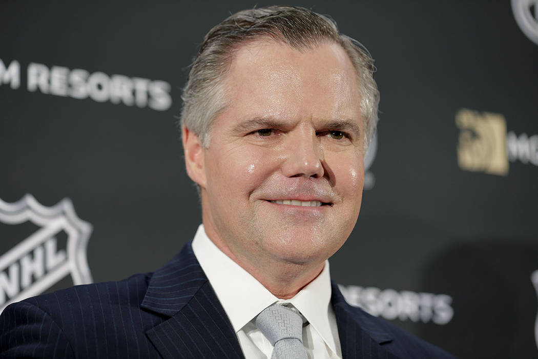 James Murren, CEO of MGM Resorts International, participates in a news conference in New York, Monday, Oct. 29, 2018. (AP Photo/Seth Wenig)