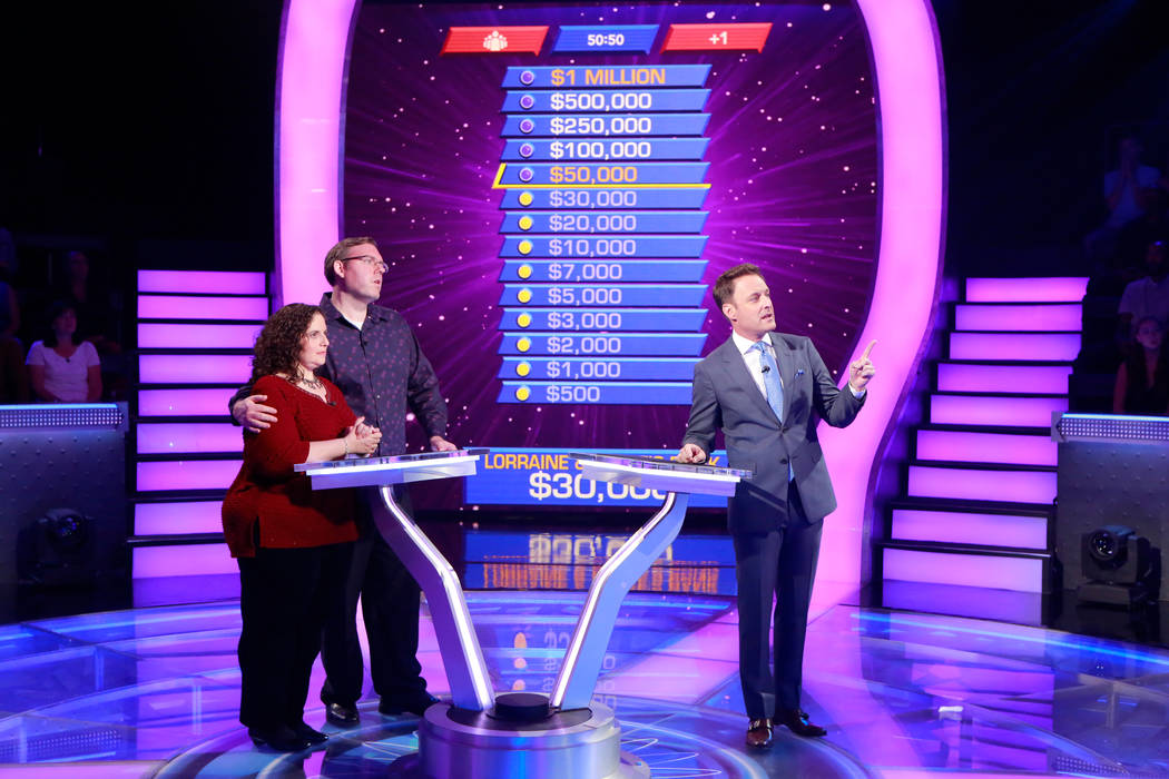 Las Vegas couple wins $30K on 'Millionaire' game show