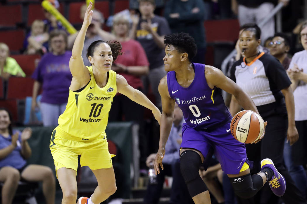 LA Sparks re-sign 4-time WNBA All-Star veteran Alana Beard