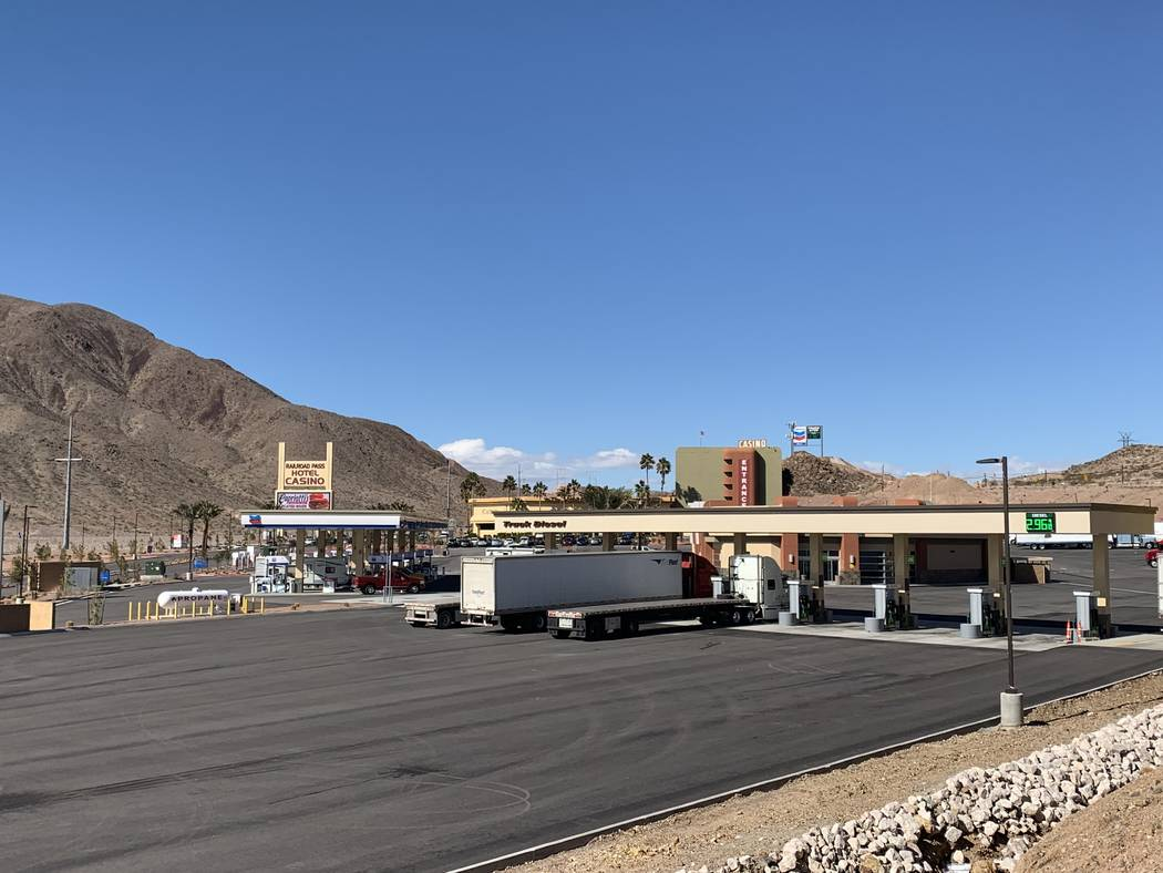Railroad Pass Hotel and Casino is adding a helipad where Maverick Helicopters will run tours of the Grand Canyon and Hoover Dam out of. (Mick Akers/Las Vegas Review-Journal)
