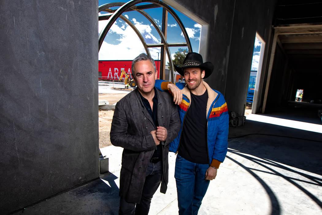 Michael Beneville (left) and Winston Fisher (right). Laurent Valezquez