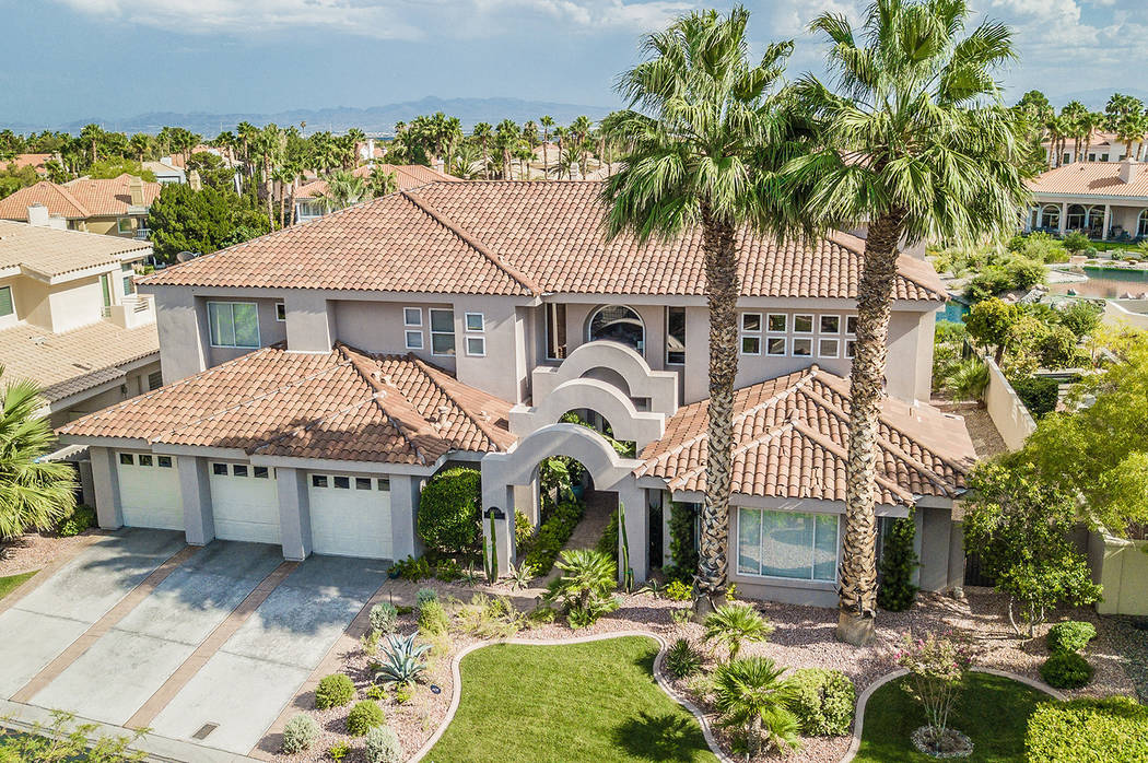 This house at 8905 Canyon Springs Drive in Las Vegas was foreclosed on by Bank of America in July 2018 and purchased in November for $970,200. (Erica Jade/Robinson Realty & Management)