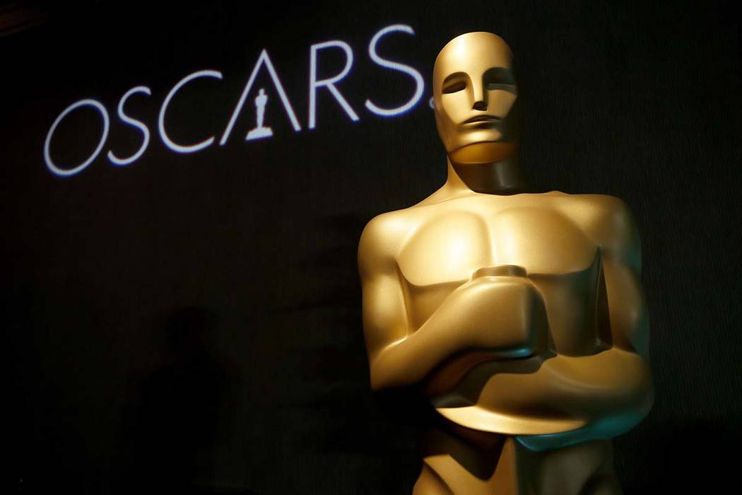 An Oscar statue appears at the 91st Academy Awards Nominees Luncheon in Beverly Hills, Calif. (Danny Moloshok/Invision/AP)