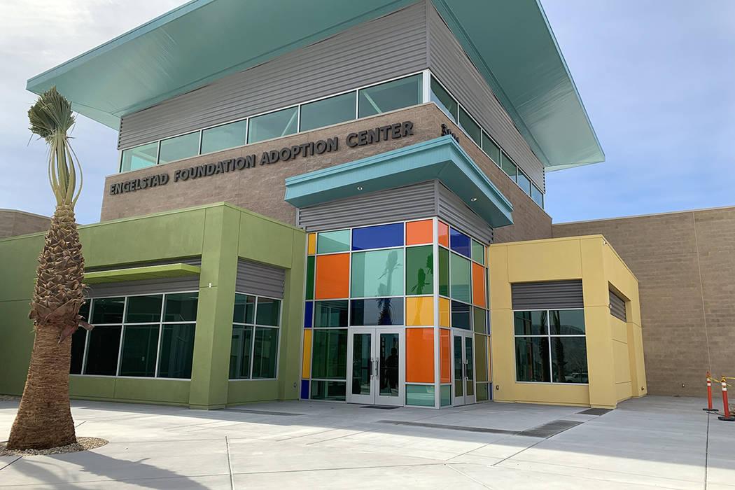 Engelstad Foundation Adoption Center (Mat Luschek/Las Vegas Review-Journal)