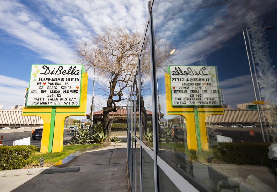 DiBella Flowers & Gifts in Las Vegas on Tuesday, Feb. 12, 2019. (Chase Stevens/Las Vegas Review-Journal) @csstevensphoto