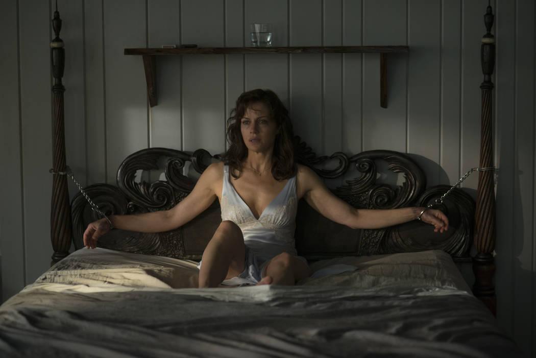"""Carla Gugino stars in """"Gerald's Game."""" (Netflix)"""