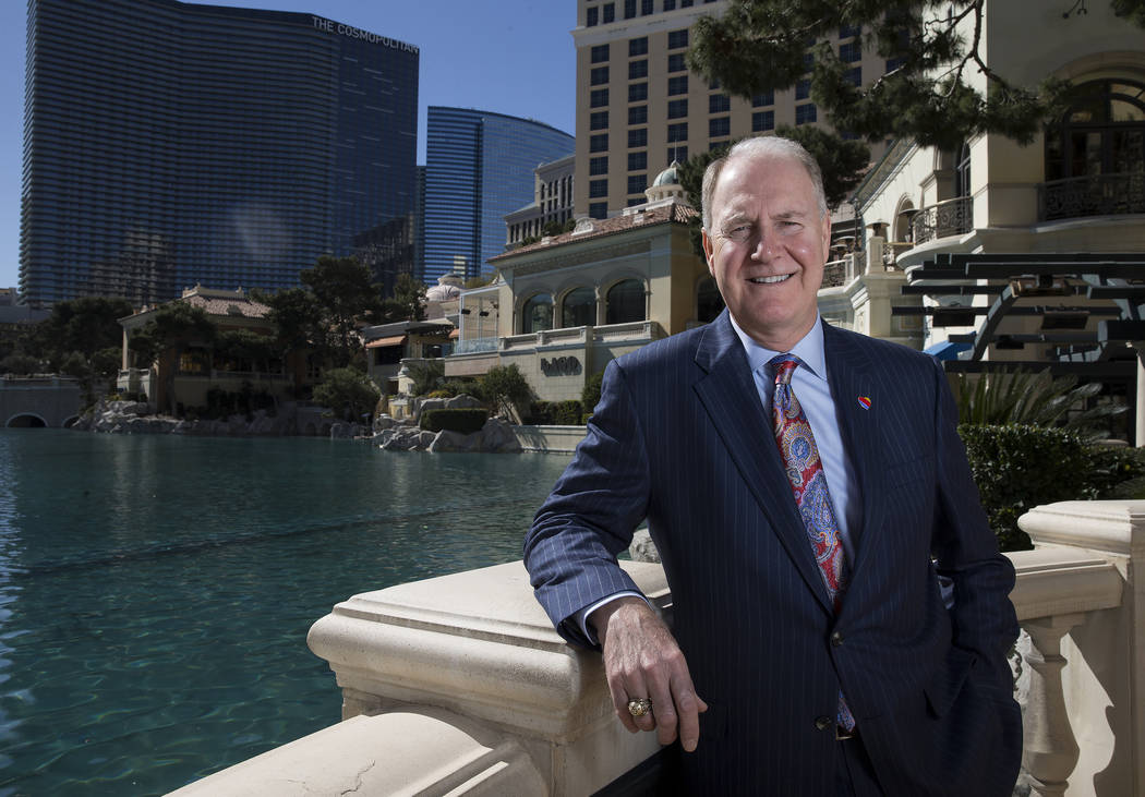 Southwest Airlines CEO Gary Kelly at the Bellagio hotel-casino in Las Vegas, Tuesday, Feb. 20, 2018. (Erik Verduzco/Las Vegas Review-Journal) @Erik_Verduzco