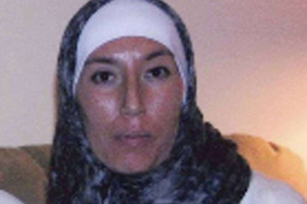 This 2012 photo released by the Department of Justice shows Monica Elfriede Witt. The Justice Department on Wednesday announced an indictment against Witt, who defected to Iran in 2013 and is curr ...