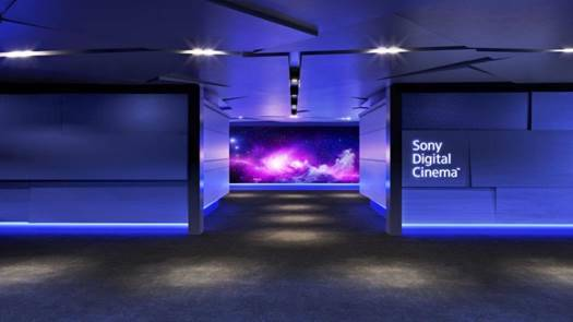 This simulated image shows what the new Sony Digital Cinema at Galaxy Theatres' Boulevard Mall location is expected to look like. (Sony)