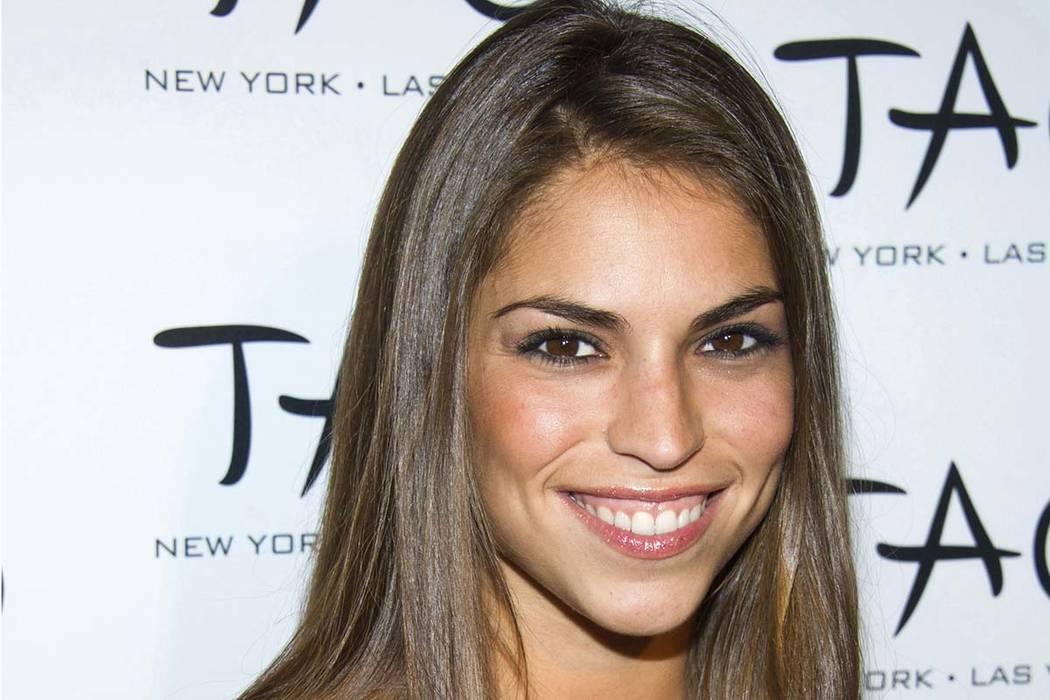 """In this Oct. 16, 2010, file photo, Antonella Barba arrives to the 10th anniversary of TAO restaurant in New York. A recently unsealed court document says the former contestant on both """"American ..."""