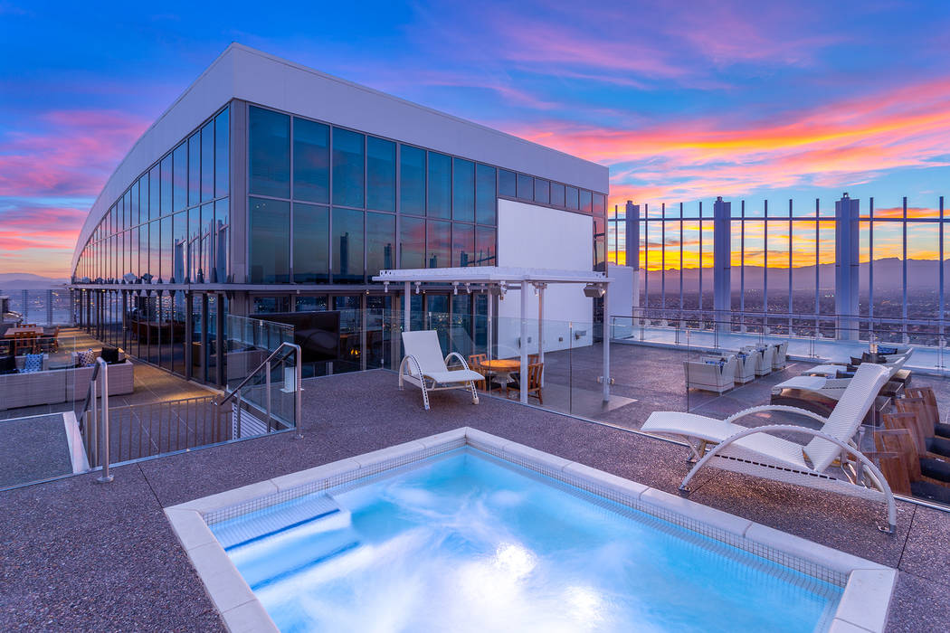 Phil Maloof's Palms Place Penthouse in Las Vegas is for sale for $15 million. (Ivan Sher Group)