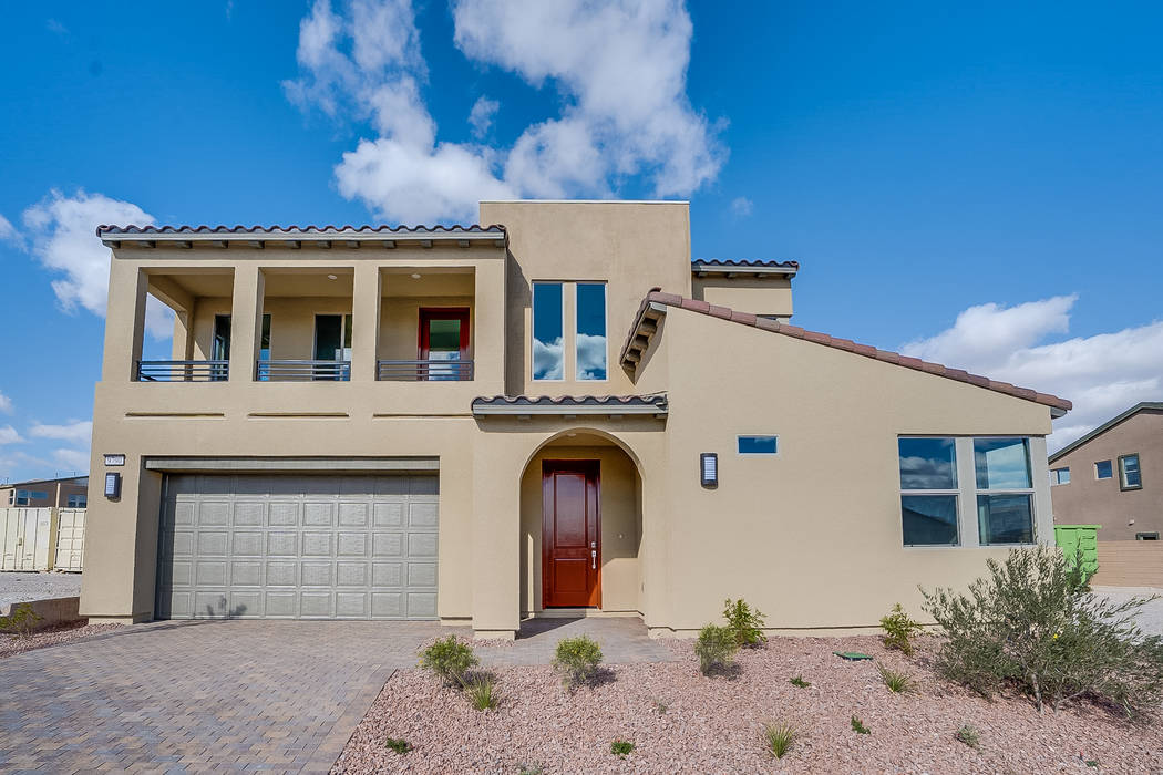 Pictured is a move-in-ready Plan Two at homesite No. 137 at Pardee Homes' Onyx neighborhood. baths. (Pardee Homes)
