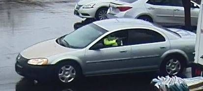 Las Vegas police are looking for a man suspected of an armed robbery Thursday morning on the 8600 block of West Tropicana Avenue. The suspect fled the scene in a gray or silver Dodge Stratus, poli ...