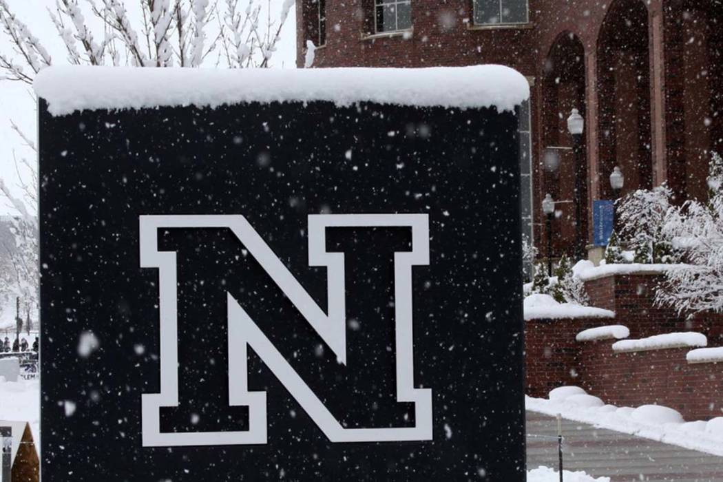 UNR canceled classes before 9 a.m. Friday, Feb. 15, 2019, but said campus operations otherwise would maintain regular operating schedules. (UNR Facebook)