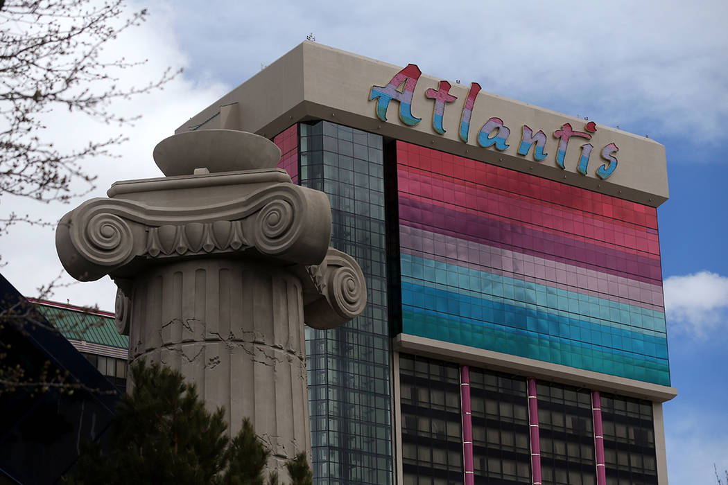 The Atlantis Casino Resort Spa in Reno, Nev. Cathleen Allison/Las Vegas Review-Journal