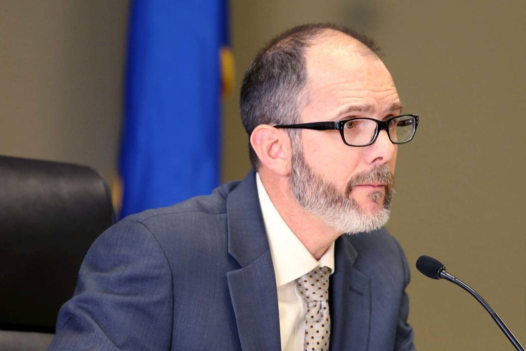 State superintendent Steve Canavero, seen in 2017. (Las Vegas Review-Journal)