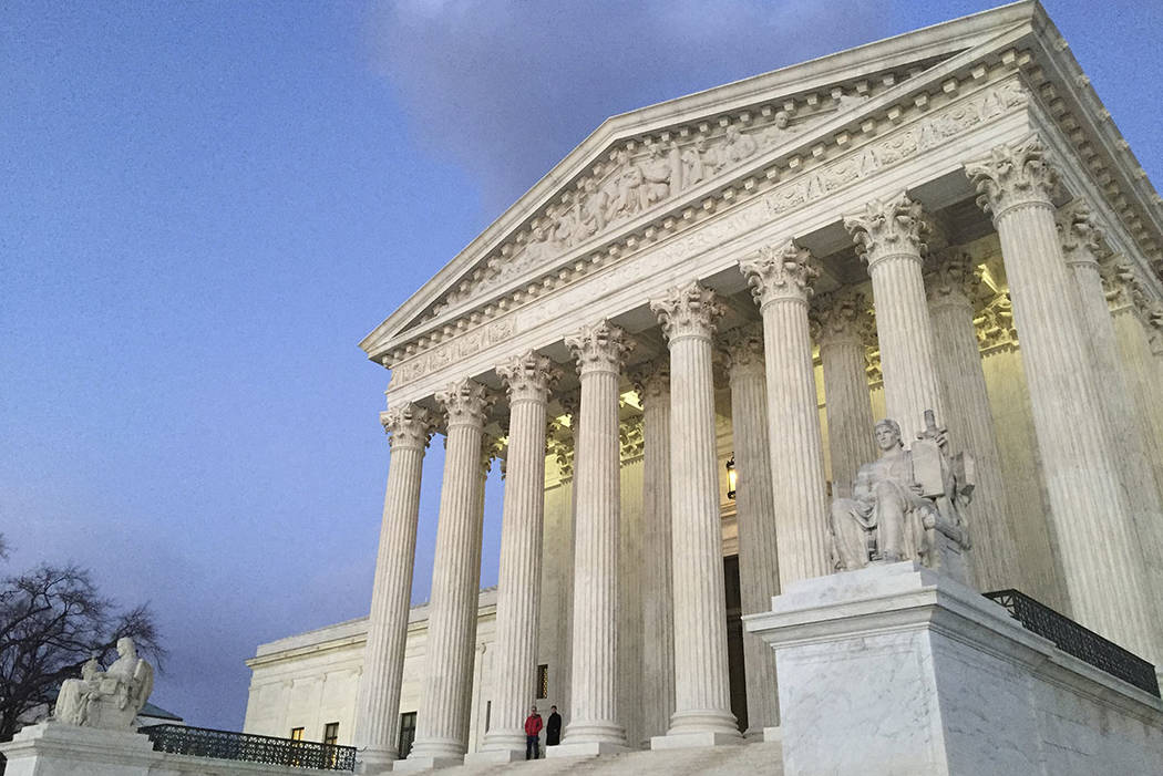 U.S. Supreme Court in Washington D.C. (Jon Elswick/AP)