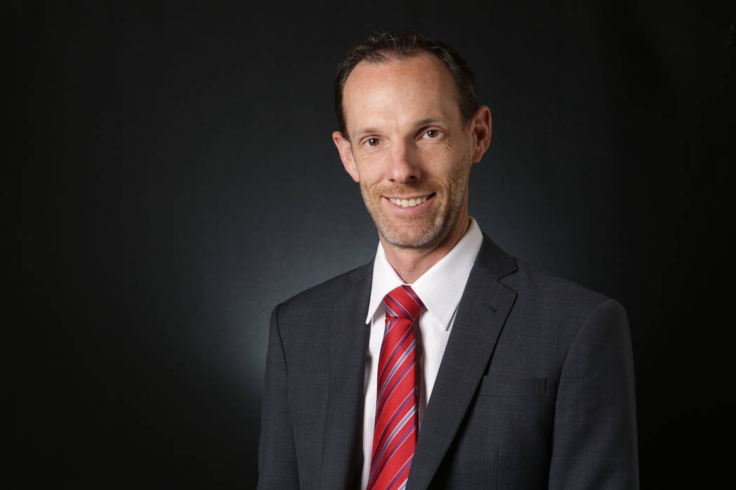 Justin Jones, Clark County Commissioner for District F (Michael Quine/Las Vegas Review-Journal) @Vegas88s