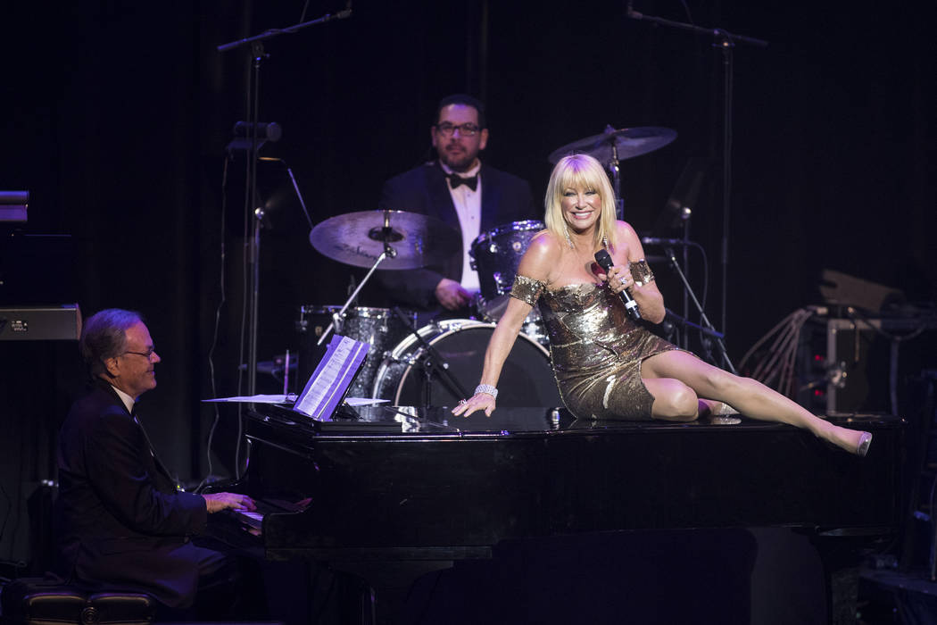 Suzanne Somers performs during the 2016 Best of Las Vegas Awards at The Venetian on Saturday, Nov. 5, 2016, in Las Vegas. (Loren Townsley/Las Vegas Review-Journal)