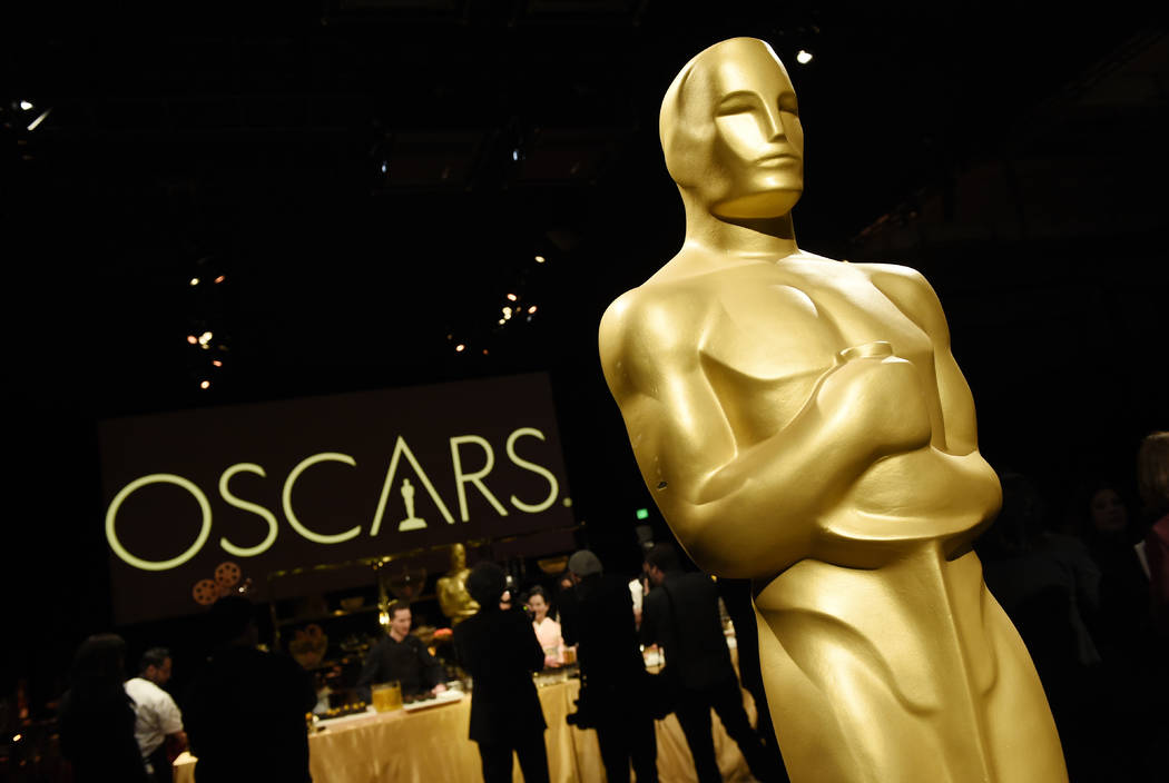 An Oscar statue is pictured at the press preview for the 91st Academy Awards Governors Ball, Friday, Feb. 15, 2019, in Los Angeles. (Photo by Chris Pizzello/Invision/AP)