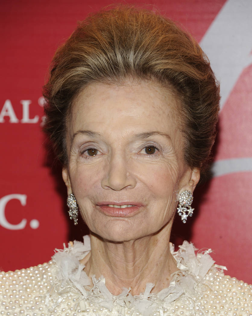 "FILE - In this Thursday, Oct. 27, 2011 file photo, socialite Lee Radziwill attends the Fashion Group International's 28th Annual Night of Stars ""The Luminaries"" at Cipriani Wall Street i ..."