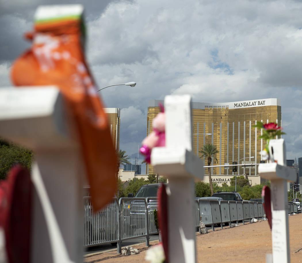 Maker Of Las Vegas Memorial Crosses Builds 5 For His