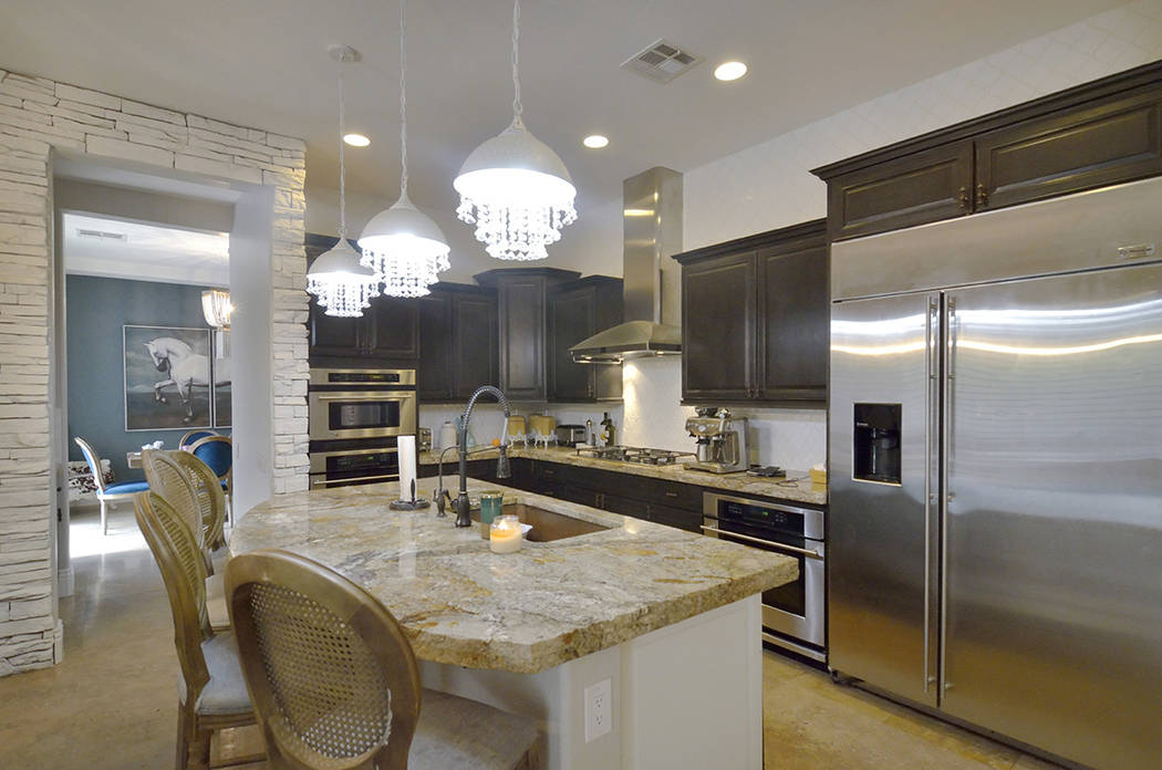 The kitchen is undergoing a major remodel. (Bill Hughes/Real Estate Millions)
