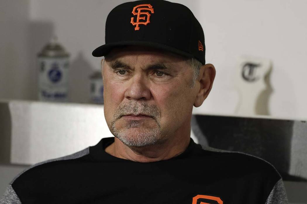 San Francisco Giants manager Bruce Bochy says he will retire after this season, his 25th as a big league manager. (Gregory Bull/AP)