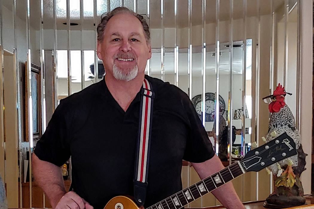 """Las Vegas musician and songwriter Rick Maiani has written a song about the NFL's Raiders moving to Las Vegas called """"Coming Home."""" (Courtesy)"""