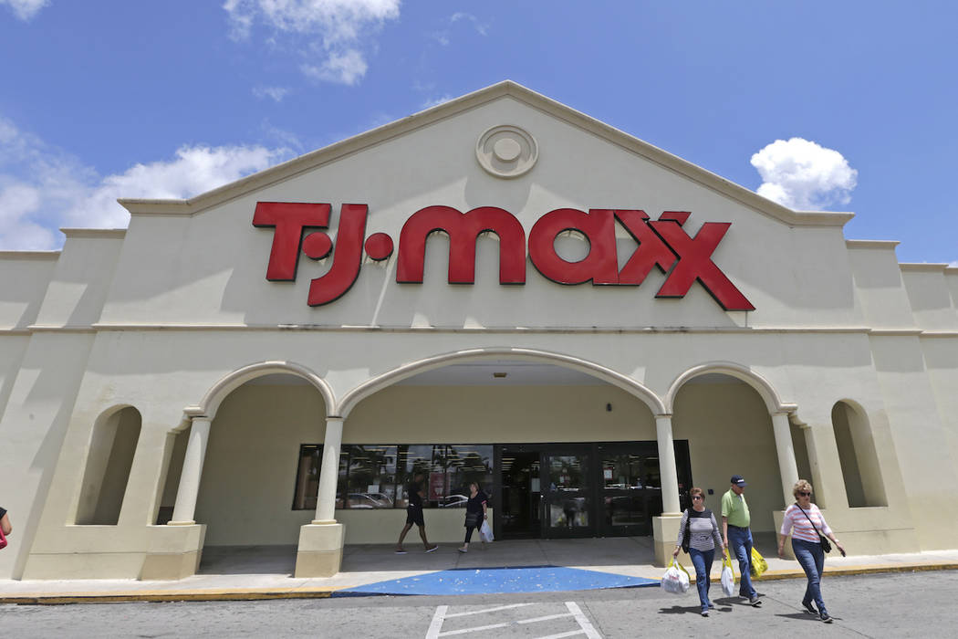 a40a0c0c454 T.J. Maxx opening at Town Square Las Vegas | Las Vegas Review-Journal
