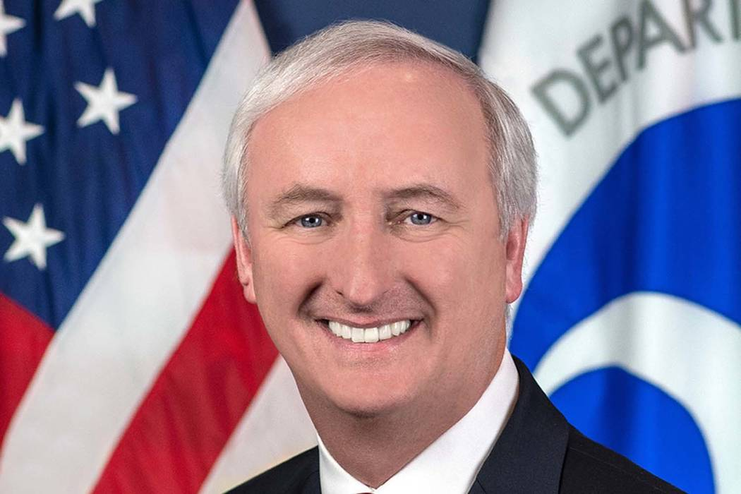 In this image provided by the Department of Transportation, deputy transportation secretary Jeffrey Rosen is shown in his official portrait in Washington. President Donald Trump has nominated Rose ...