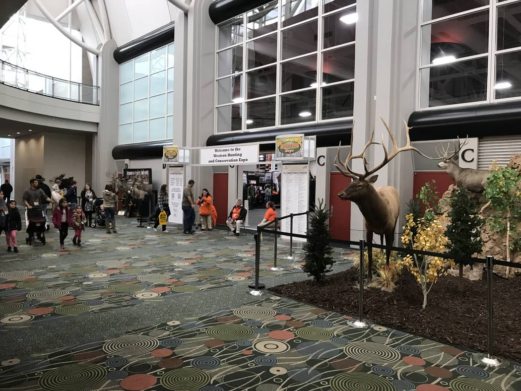 While florists made their Valentine's Day deliveries, hunters gathered at the Salt Palace in Salt Lake City, Utah for the 2019 edition of the Western Hunting & Conservation Expo. (Doug Nielsen)