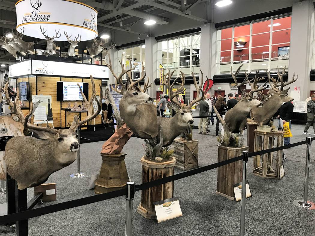 The Mule Deer Foundation is one of the title sponsors for the annual Western Hunting & Conservation Expo held at the Salt Palace in Salt Lake City. Money raised during the event is used for conser ...