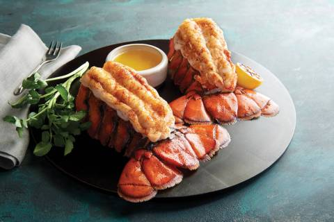 Lenten special of twin lobster tails at Morton's the Steakhouse (Ralph Smith)