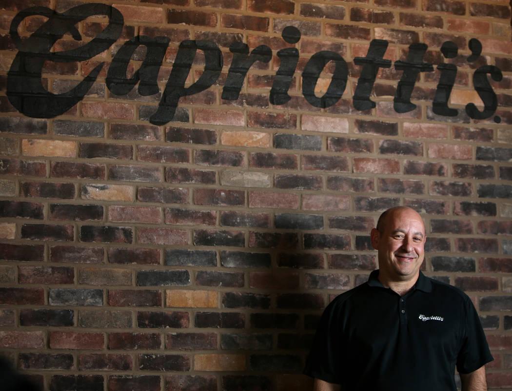 Franchise owner Michael Solomon poses for a portrait inside Capriotti's Sandwich Shop in Las Vegas, Wednesday, Feb. 20, 2019. (Caroline Brehman/Las Vegas Review-Journal) @carolinebrehman