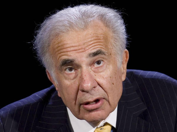In Securities and Exchange Commission documents, investor Carl Icahn said he encouraged Caesars Entertainment Corp. to be sold and was seeking board representation. (AP Photo/Mark Lennihan, File)